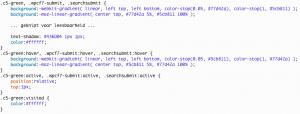 CSS button stijl code voorbeeld