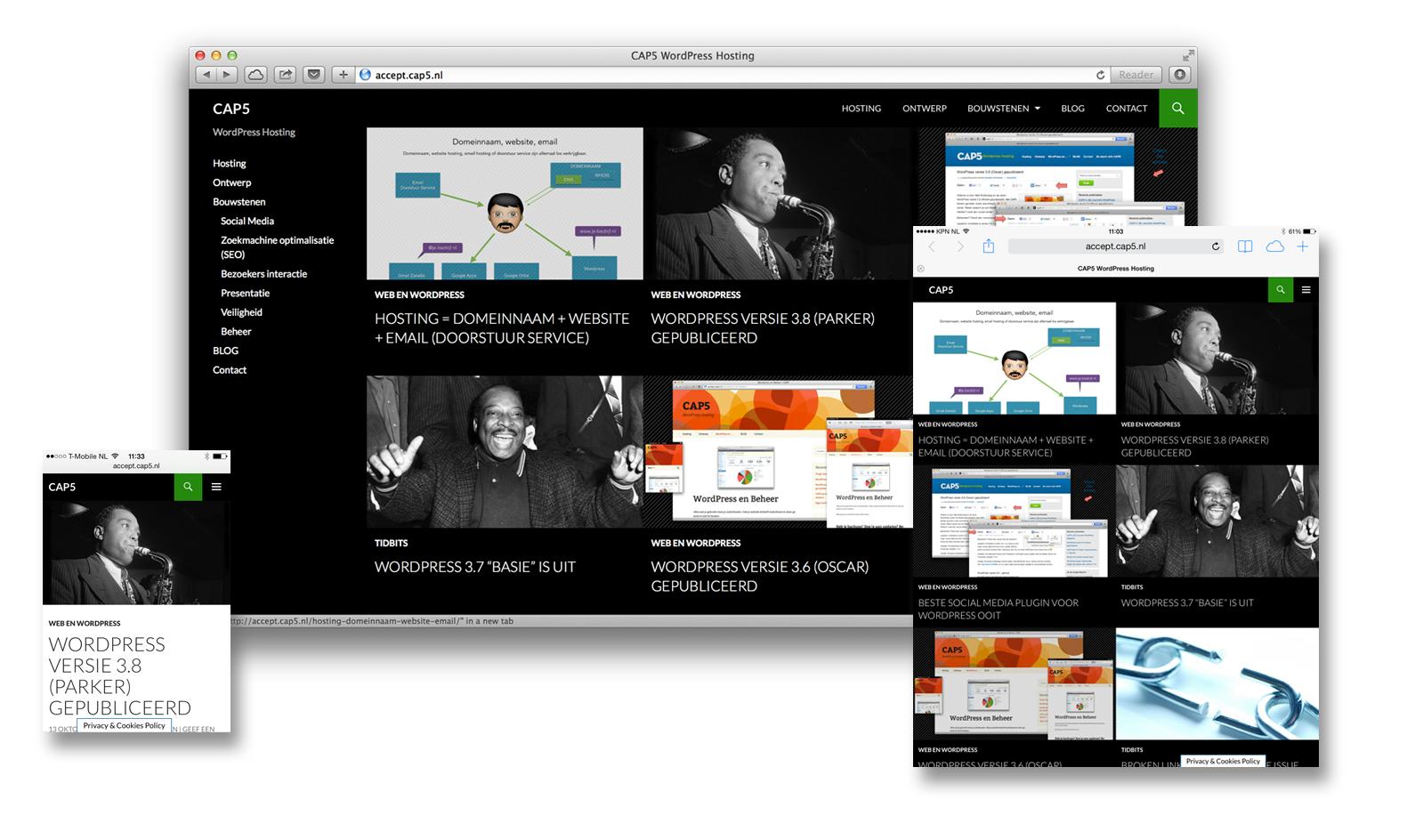 WordPress versie 3.8 (Parker) gepubliceerd