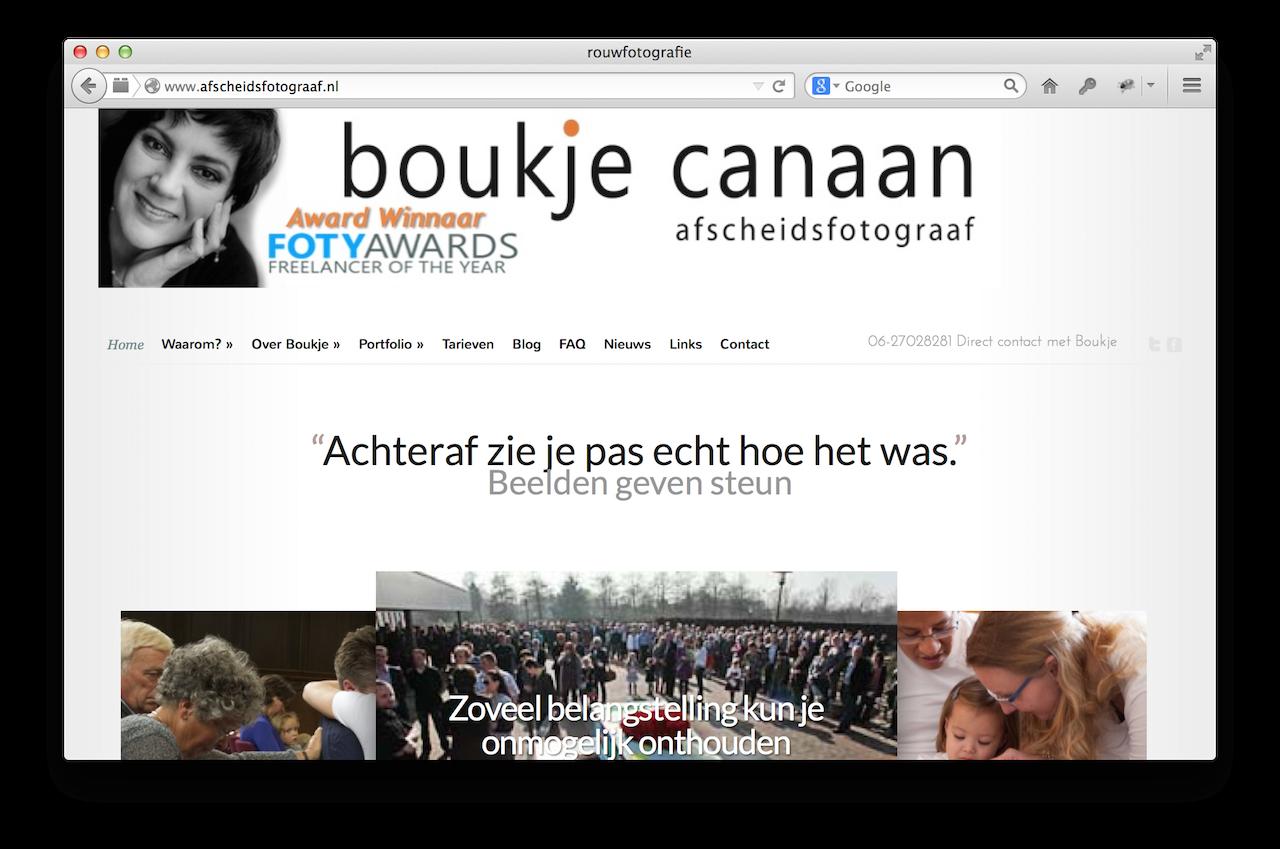 www.afscheidsfotograaf.nl kiest voor CAP5 WordPress Hosting
