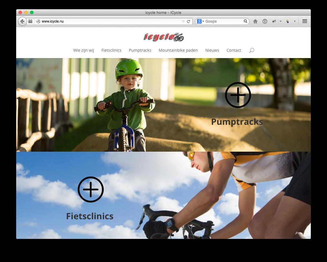ICYCLE.NU kiest voor CAP5 BV als Internet Partner