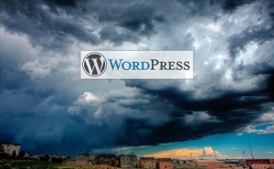 Wordpress security storm