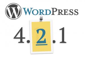 Wordpress 4.2.1 uitgebracht