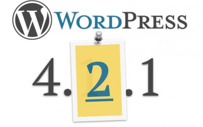 WordPress 4.2.1 gepubliceerd – Beveiliging weer in rustig vaarwater