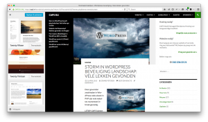 Wordpress 4.2 - Live thema preview