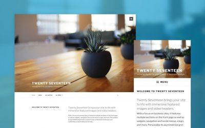 WordPress 4.7 – hoogtepunten van een reeks nieuwe features