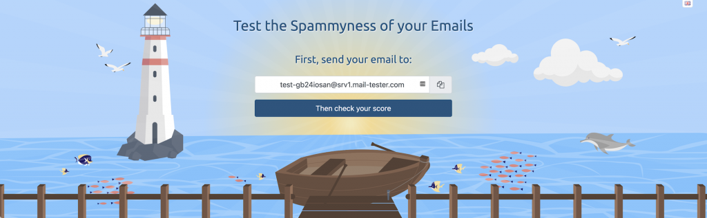 CAP5 mail tester website